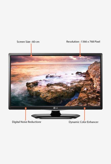 Buy LG 24LF454A 60 Cm (24 Inch) HD Ready TV (Black) Online At Best