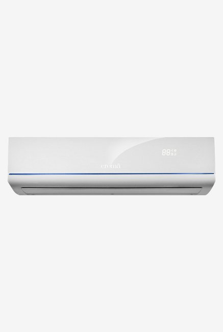 Croma CRAC7480 1 Ton 3 Star Split AC Copper (White)