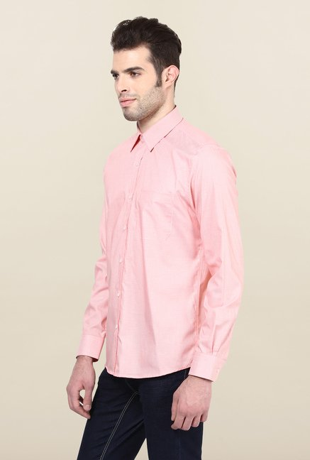 Turtle Pink Checks Formal Shirt