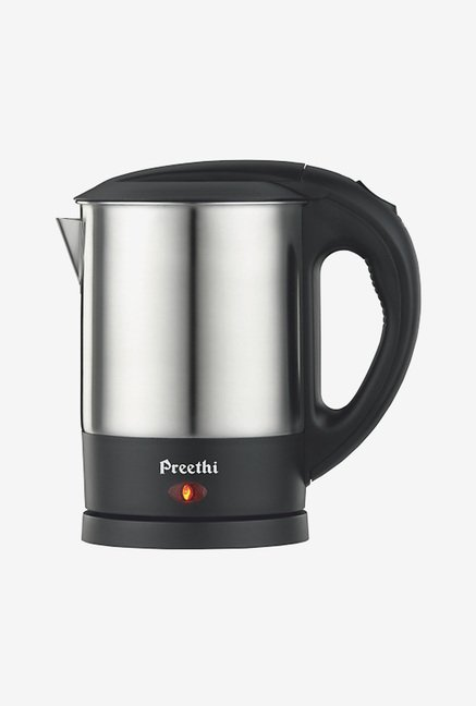 Preethi Armour EK707 1 L Electric Kettle (Silver)