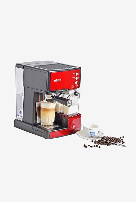 Buy Oster 6601R Prima Latte Automatic Coffee Maker Red online at best price at TataCLiQ