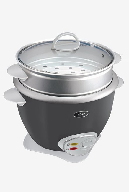 Oster 4731 3.6Ltr Electric Rice Cooker with Steam Tray(Grey)