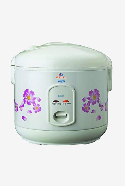 Bajaj RCX21 1.8 Ltr Electric Rice Cooker (White)