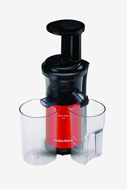 Morphy Richards SJ01 Slow Juicer (Red)