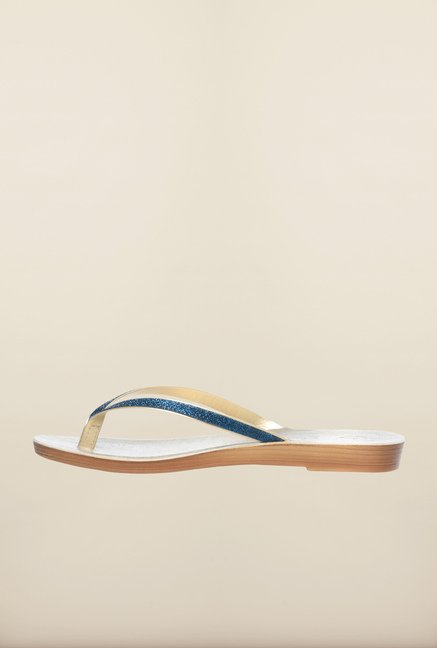 Pavers England Blue Flat Thong