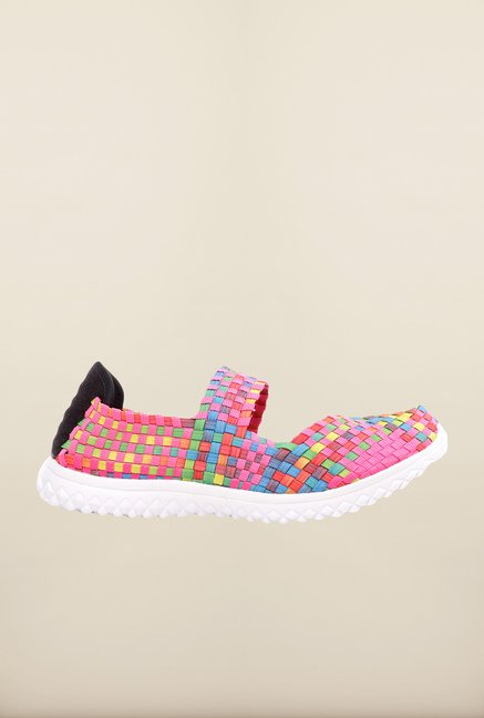 Pavers England Pink Casual Shoes