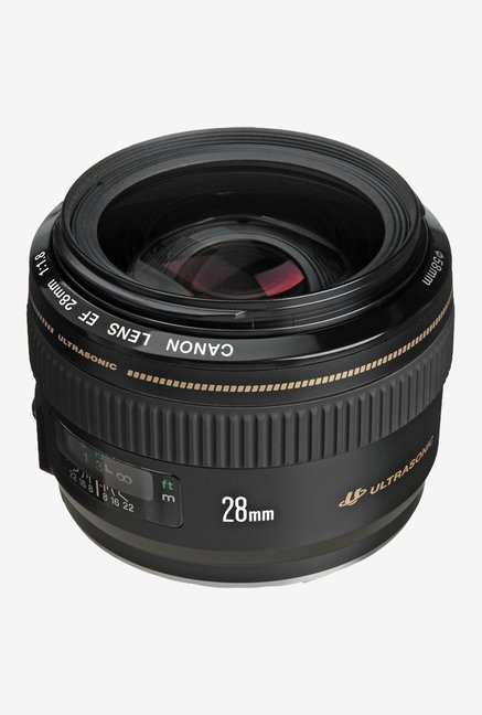 Canon EF 28mm f/1.8 USM Lens Black