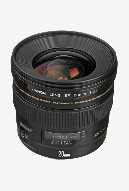 Canon EF 20mm f/2.8 USM Lens Black