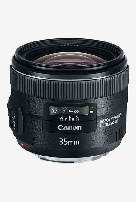 Canon EF 35mm f/2 IS USM Lens Black