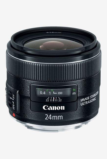 Canon EF 24mm f/2.8 IS USM Lens Black