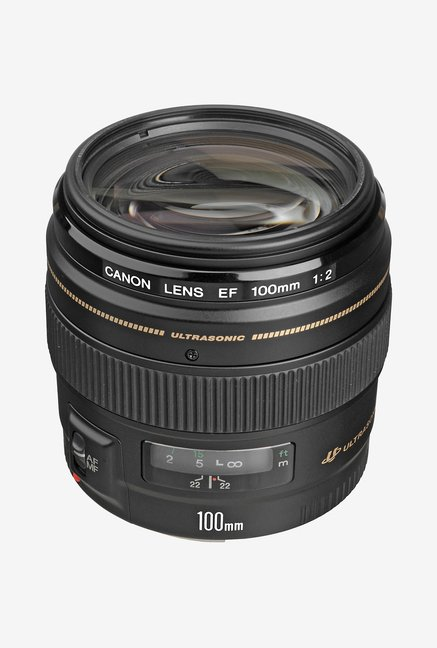 Canon EF 100mm f/2 USM Lens Black