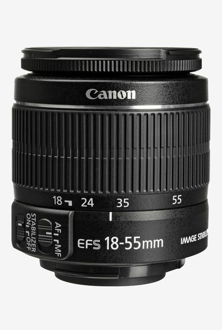 Canon EF S 18 55mm f/3.5 5.6 IS II Lens Black