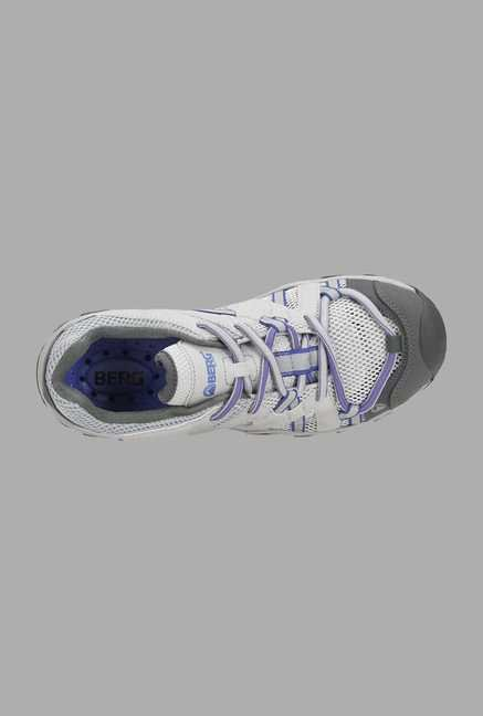 Berg White Lace Up Shoes