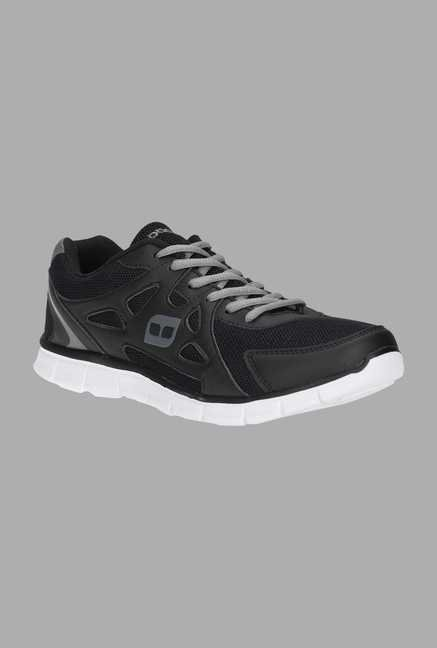 Doone Black Training Shoes
