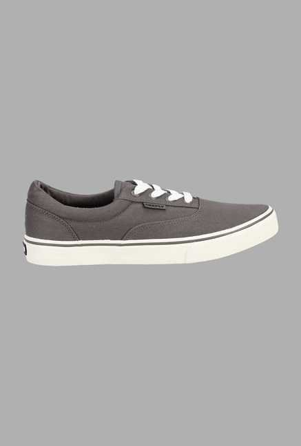 Deeply Grey Canvas Sneakers
