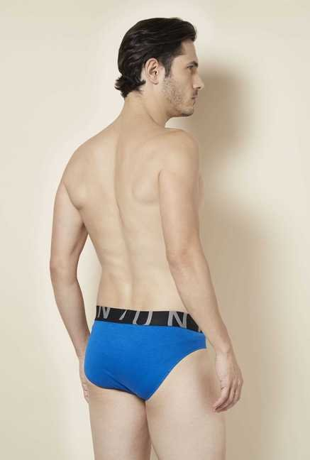 Tuna London Blue Solid Brief