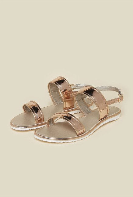 Inc.5 Copper Ankle Strap Sandals