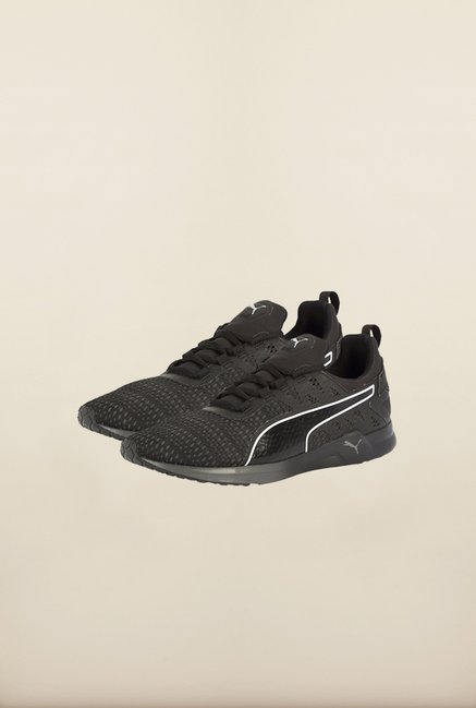 Puma Black & Asphalt Running Shoes