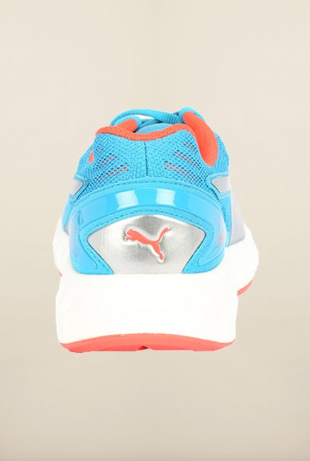 Puma Ignite Atomic Blue & Red Blast Running Shoes