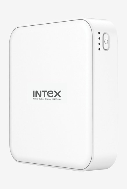 Intex IT-PB10.4K 10400 mAh Power Bank (White)