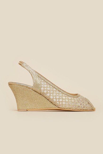 Inc.5 Gold Back Strap Wedges