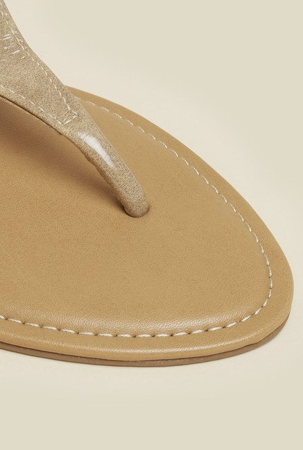 Inc.5 Beige Back Strap Sandals