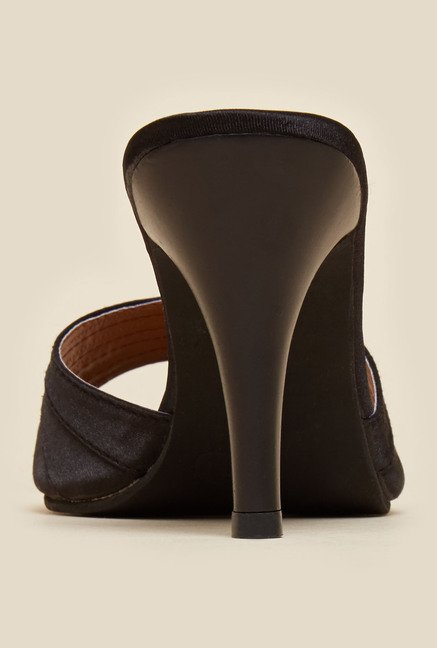 Inc.5 Black Mule Stilettos