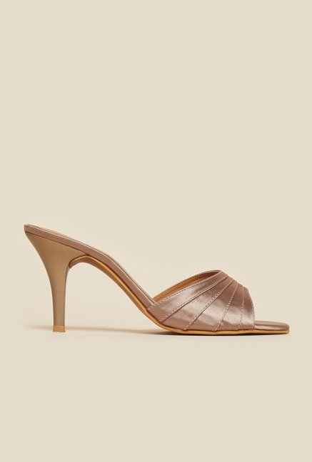 Inc.5 Copper Mule Stilettos