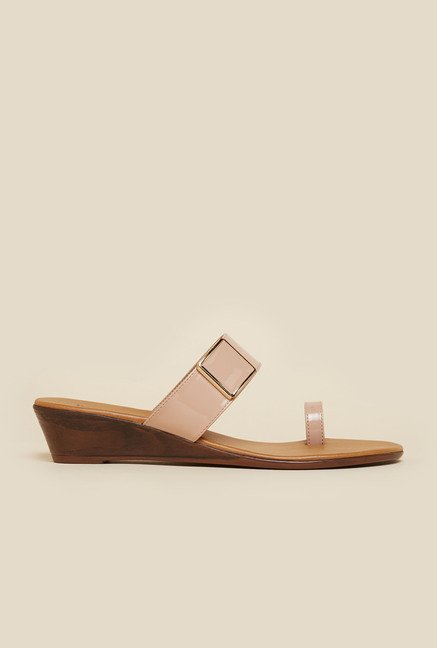 Inc.5 Light Pink Platform Heel Sandals