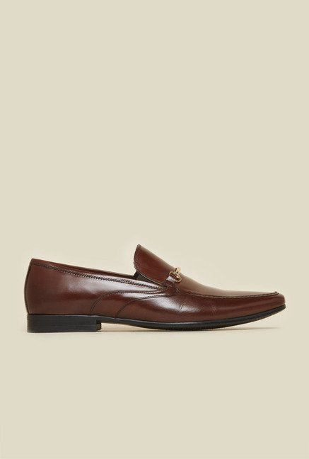 Atesber by Inc.5 Brown Leather Formal Shoes