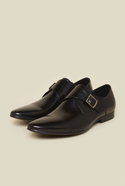 Atesber by Inc.5 Black Leather Formal Shoes