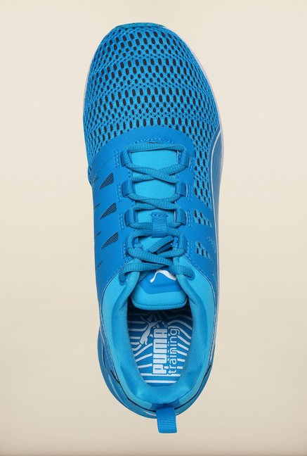 Puma Atomic Blue & White Training Shoes