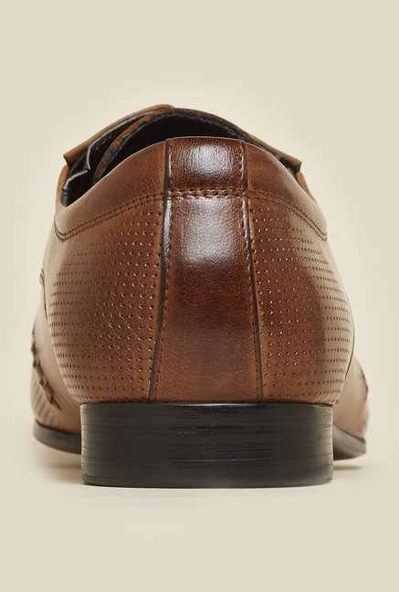 Atesber by Inc.5 Tan Leather Formal Shoes