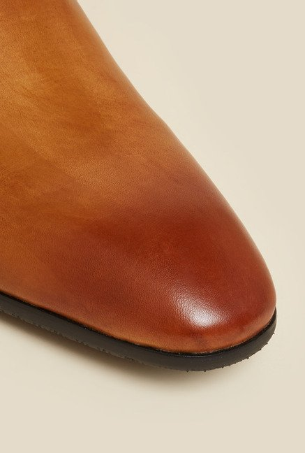 Atesber by Inc.5 Tan Formal Slip-On Shoes