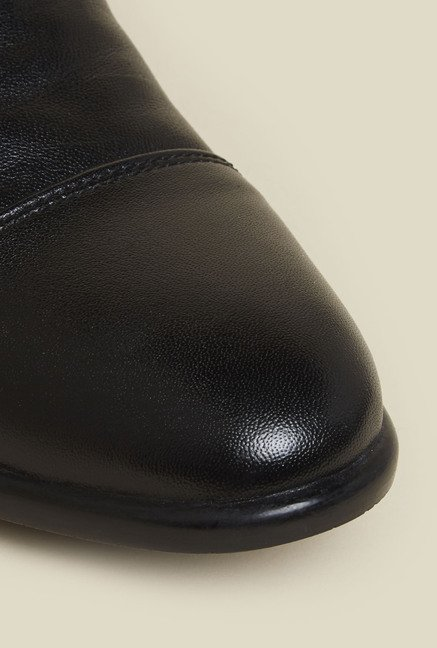Privo by Inc.5 Black Leather Formal Oxford Shoes
