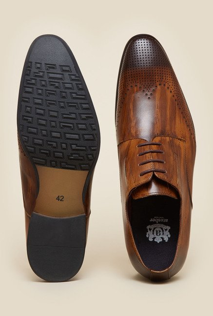 Atesber by Inc.5 Tan Derby Formal Shoes