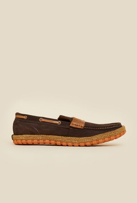 Privo by Inc.5 Brown Casual Boat Shoes