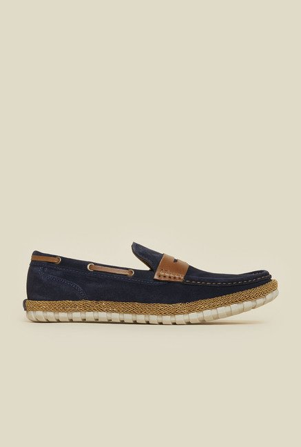 Privo by Inc.5 Navy Casual Loafers