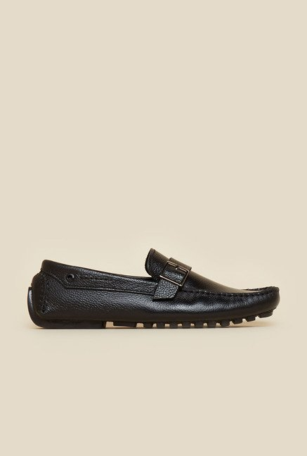 Privo by Inc.5 Black Leather Moccasins