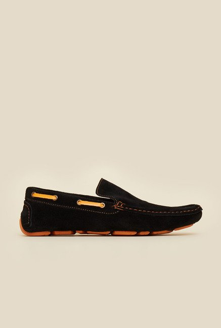 Privo by Inc.5 Black Causal Boat Shoes