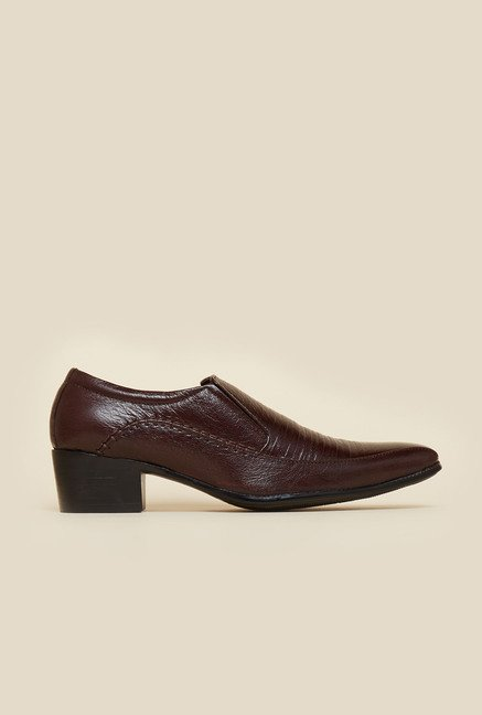Privo by Inc.5 Brown Slip-On Shoes