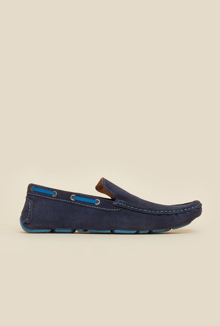 Privo by Inc.5 Navy Causal Boat Shoes