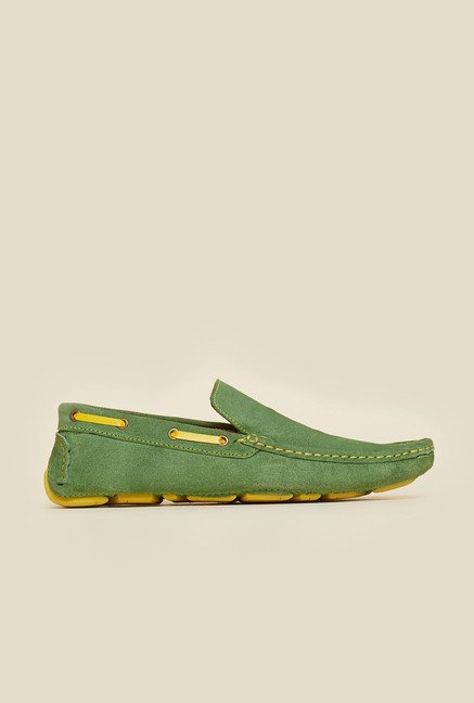 Privo by Inc.5 Green Causal Boat Shoes