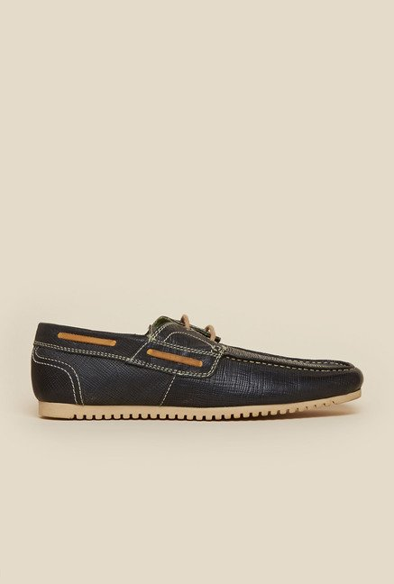Privo by Inc.5 Black Casual Boat Shoes
