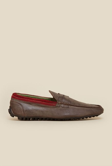 Privo by Inc.5 Brown Casual Moccasins