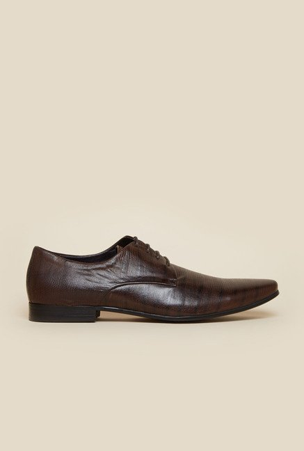 Atesber by Inc.5 Brown Derby Lace-up Shoes
