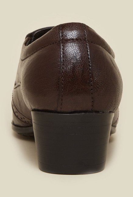 Privo by Inc.5 Brown Leather Shoes