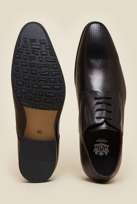 Atesber by Inc.5 Black Derby Formal Shoes
