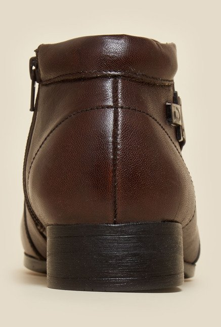 Privo by Inc.5 Brown Formal Boots