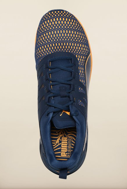 Puma Blue Wing Teal & Orange Pop Training Shoes